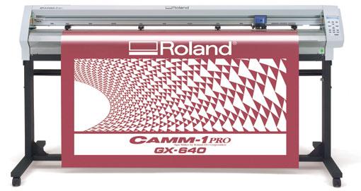 Roland Schneideplotter für Folienbeschriftung
